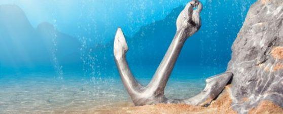Anchor-Underwater